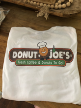 Load image into Gallery viewer, Long Sleeve Donut Joe's T Shirt