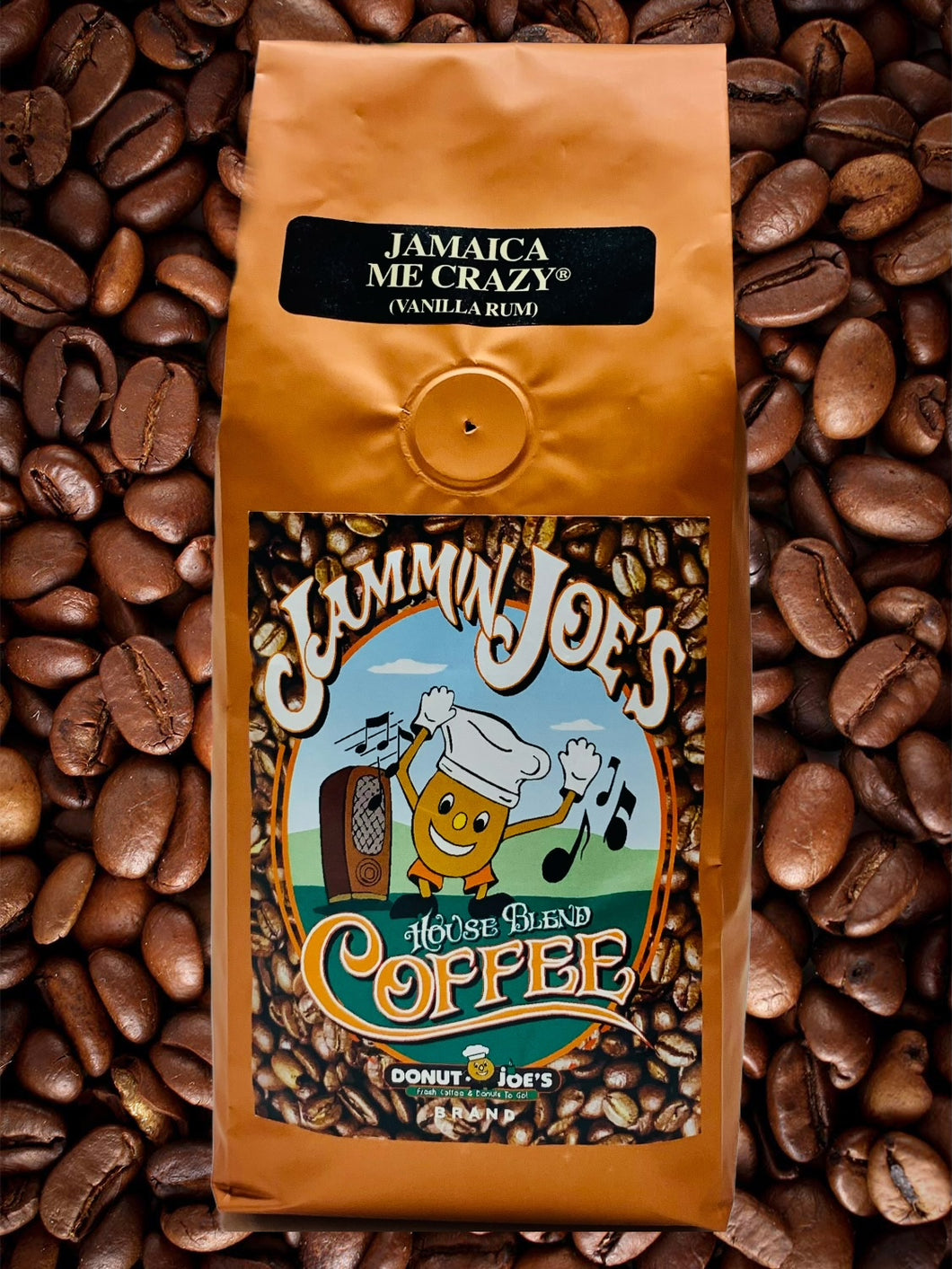 1 Bag Donut Joe's®️ Jamaica Me Crazy Coffee
