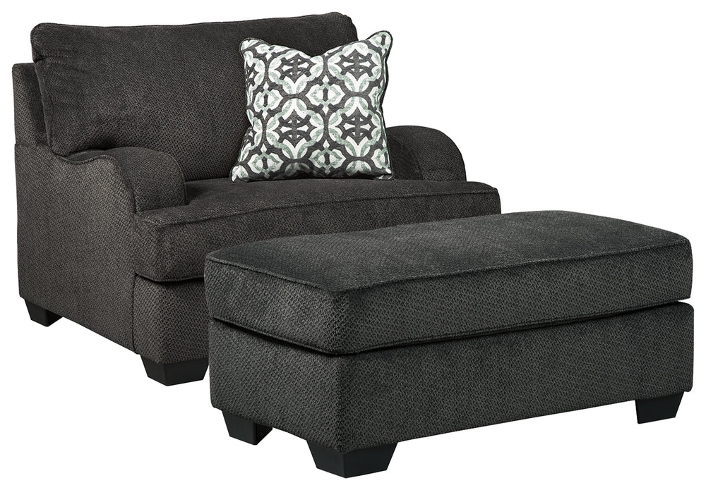 Charenton Benchcraft 2-Piece Chair & Ottoman Set