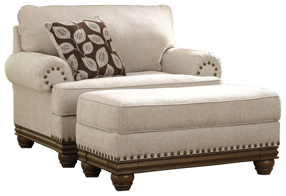 Harleson Signature Design 2-Piece Chair & Ottoman Set