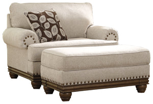 Load image into Gallery viewer, Harleson Signature Design 2-Piece Chair & Ottoman Set