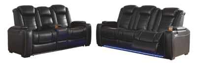 Load image into Gallery viewer, Party Time Signature Design Contemporary 2-Piece Living Room Set