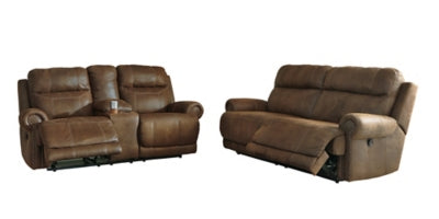 Austere Signature Design 2-Piece Living Room Set