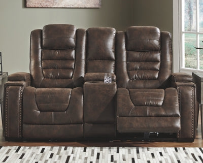 Game Zone Signature Design by Ashley Loveseat