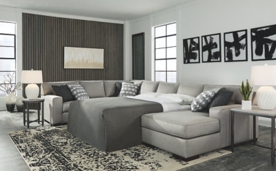 Marsing Nuvella Benchcraft 5-Piece Sleeper Sectional with Chaise