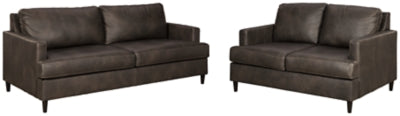 Hettinger Signature Design 2-Piece Living Room Set