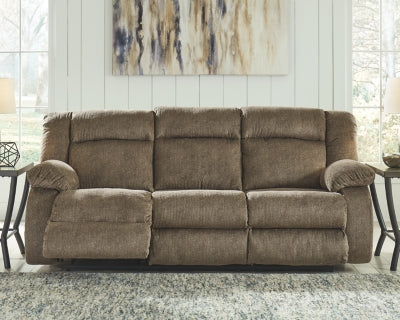 Burkner Signature Design by Ashley Reclining Power Sofa