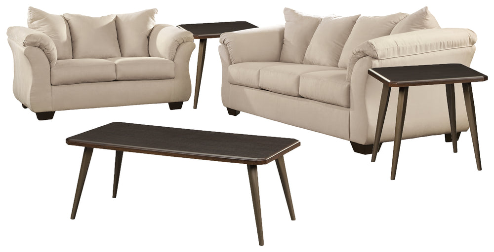 Darcy Signature Design 5-Piece Living Room Package