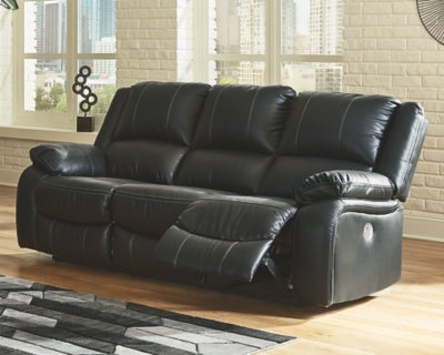 Calderwell Signature Design by Ashley Reclining Power Sofa