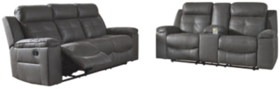Load image into Gallery viewer, Jesolo Signature Design Family Spaces 2-Piece Living Room Set