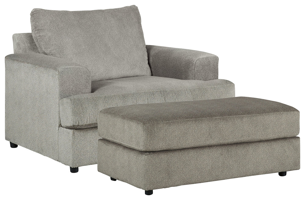 Soletren Signature Design 2-Piece Chair & Ottoman Set