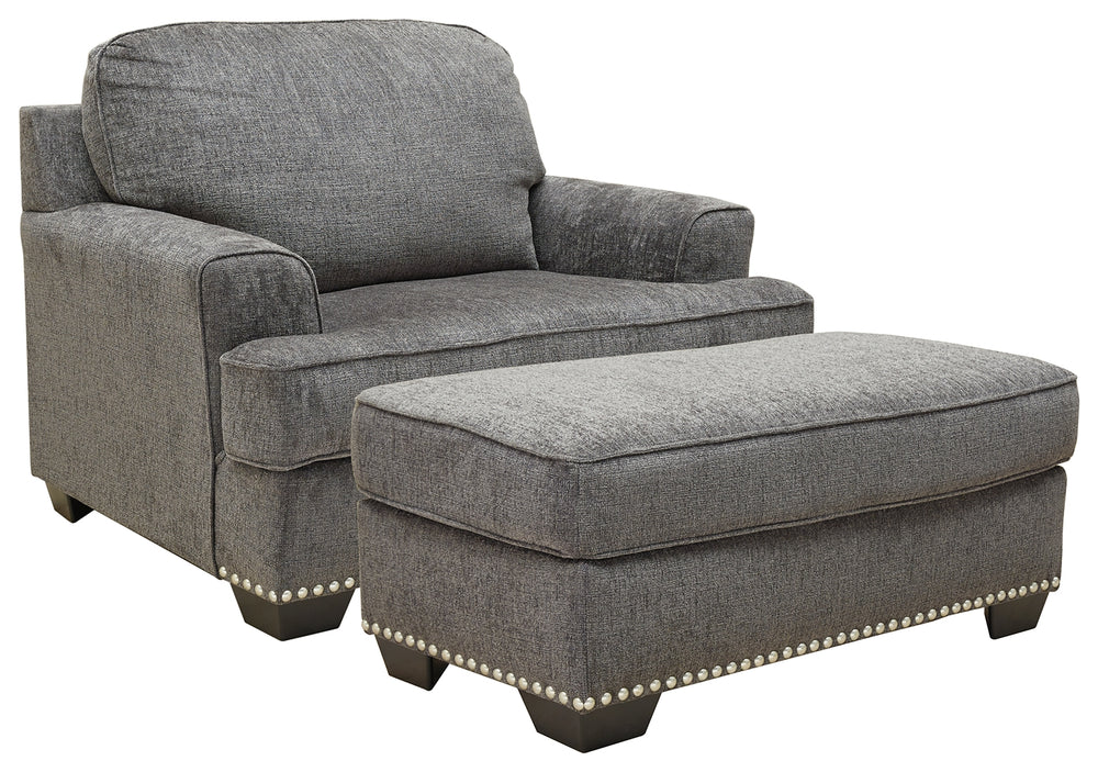 Locklin Benchcraft 2-Piece Chair & Ottoman Set
