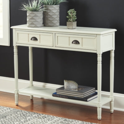Goverton Signature Design by Ashley Sofa Table