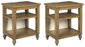 Brickwell Signature Design 2-Piece End Table Set