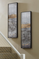 Aniyah Signature Design by Ashley Wall Art Set of 2