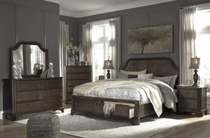 Adinton Signature Design 5-Piece Bedroom Set