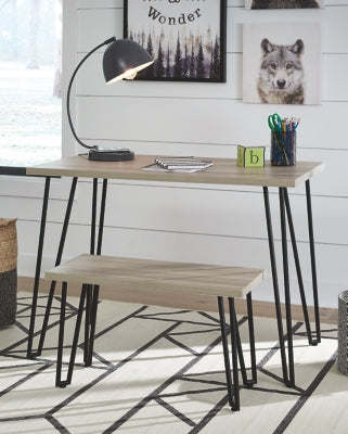 Blariden Signature Design by Ashley Desk wBench