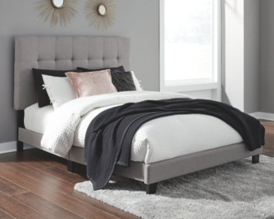 Adelloni Signature Design by Ashley Upholstered Bed