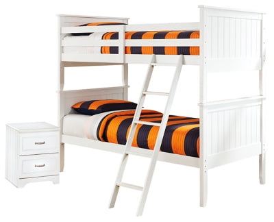 Lulu Signature Design Bunk Bed 4-Piece Bedroom Set