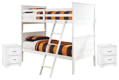 Lulu Signature Design Bunk Bed 5-Piece Bedroom Set