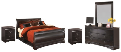 Huey Vineyard Signature Design 7-Piece Bedroom Set