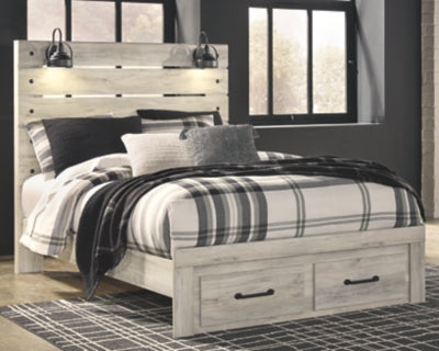 Cambeck Signature Design by Ashley Bed with 2 Storage Drawers