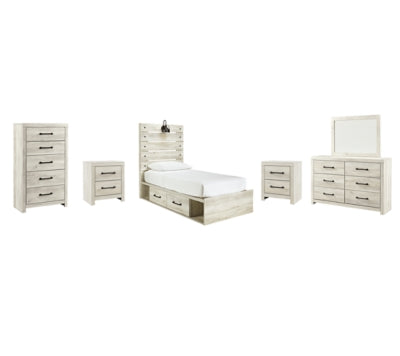 Load image into Gallery viewer, Cambeck Signature Design 8-Piece Youth Bedroom Set with 2 Storage Drawers