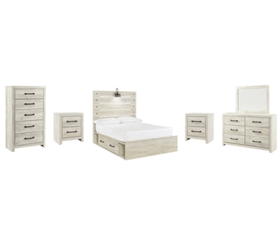 Cambeck Signature Design 8-Piece Youth Bedroom Set with 2 Storage Drawers