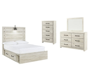 Cambeck Signature Design 6-Piece Youth Bedroom Set with 2 Storage Drawers
