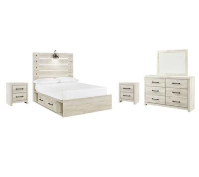 Cambeck Signature Design 7-Piece Youth Bedroom Set with 2 Storage Drawers