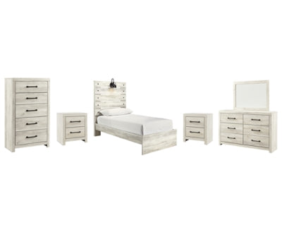 Cambeck Signature Design 8-Piece Youth Bedroom Set