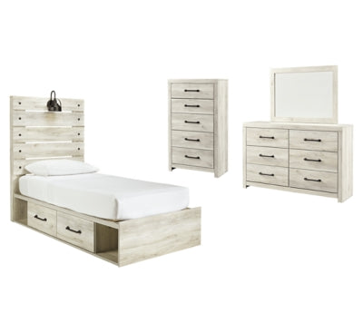 Cambeck Signature Design 6-Piece Youth Bedroom Set with 4 Storage Drawers