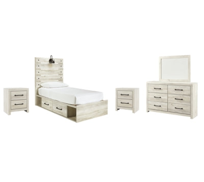 Cambeck Signature Design 7-Piece Youth Bedroom Set with 4 Storage Drawers