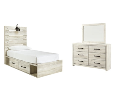 Cambeck Signature Design 5-Piece Youth Bedroom Set with 4 Storage Drawers