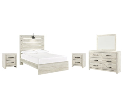 Cambeck Signature Design 7-Piece Bedroom Set with 2 Nightstands