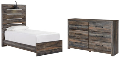 Drystan Signature Design 4-Piece Bedroom Set with Dresser
