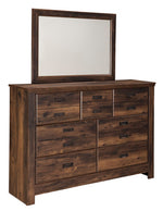 Quinden Signature Design by Ashley Bedroom Mirror