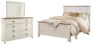 Load image into Gallery viewer, Willowton Signature Design 5-Piece Bedroom Set