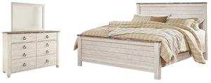 Willowton Signature Design 5-Piece Bedroom Set