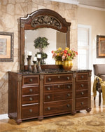 Gabriela Signature Design by Ashley Dresser and Mirror