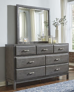 Caitbrook Signature Design by Ashley Dresser and Mirror