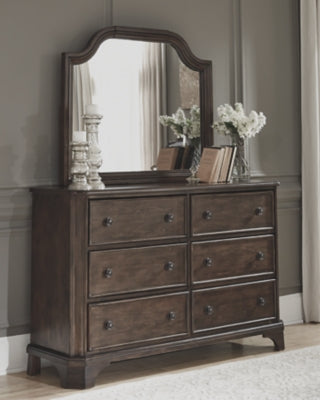 Adinton Signature Design by Ashley Dresser and Mirror