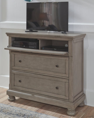 Lettner Signature Design by Ashley Media Chest