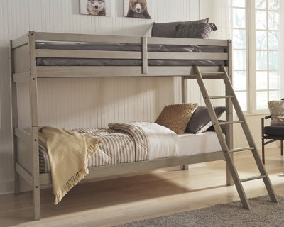 Lettner Signature Design by Ashley TwinTwin Bunk Bed wLadder