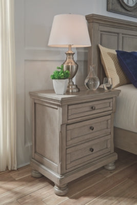 Lettner Signature Design by Ashley Two Drawer Nightstand