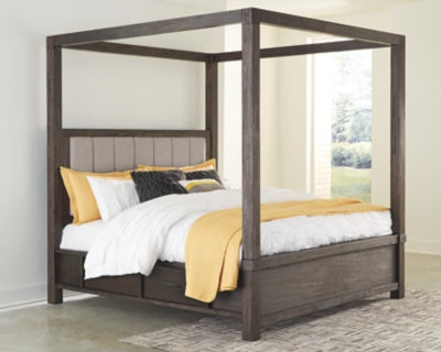 Dellbeck Millennium by Ashley Bed with 4 Storage Drawers