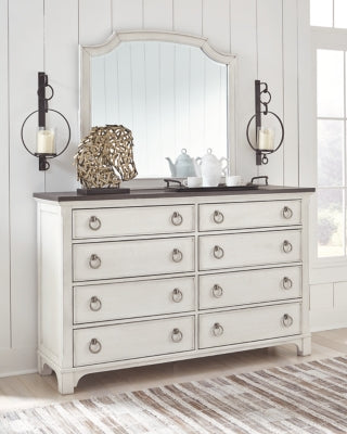 Nashbryn Benchcraft Dresser and Mirror