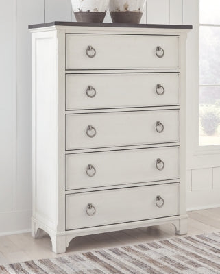 Nashbryn Benchcraft Five Drawer Chest