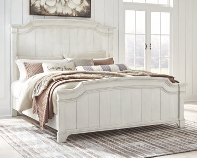Nashbryn Benchcraft King Panel Bed