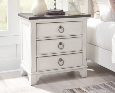 Nashbryn Benchcraft Three Drawer Night Stand
